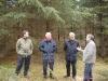 en del af bestyrelsen på skovtur 2004